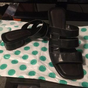 Cole Haan square toe sandal 8.5
